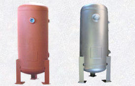 air receiver tank with legs vertical 16-VC-30-L