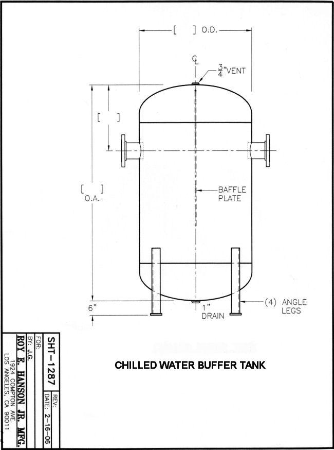 Buffer Tanks In Stock Hanson Tank